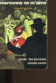 Mersonne ne m'aime par Nicole-Lise Bernheim