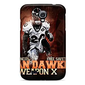 DannyLCHEUNG Samsung Galaxy S4 Great Hard Phone Case Allow Personal Design High Resolution Denver Broncos Pictures [jrW8898fPKz]