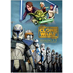 Star Wars: The Clone Wars - Seasons 1-5