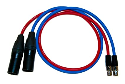 Ta3 M To Xlr F Audio Input Cable For Red One Camera Cameras & Photo Audio For Video
