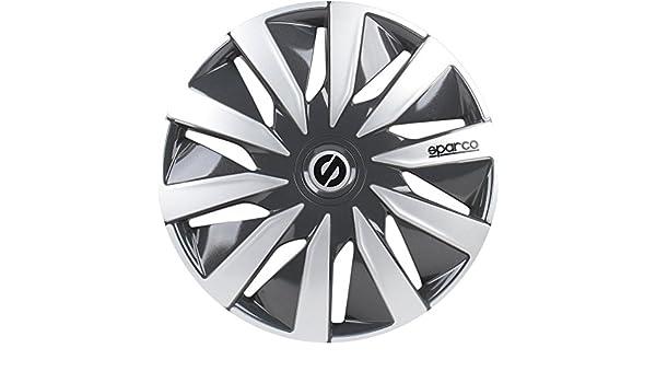 Amazon.com: Sparco Set Wheel Covers Lazio 15-inch Grey/Silver: Automotive
