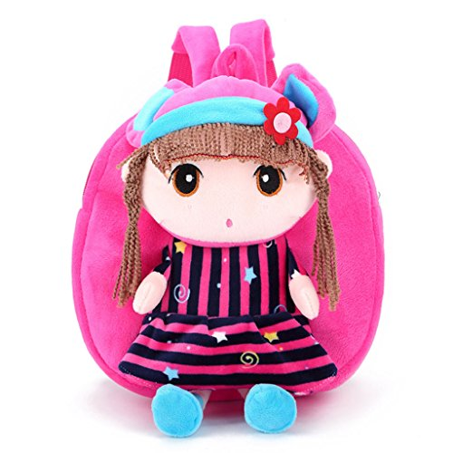 Red Pink Backpack Hot Cartoon Toddler Child Kids Baby Bag Cute Schoolbag Girls Dabixx Shoulder Gift 6F7nSCxq