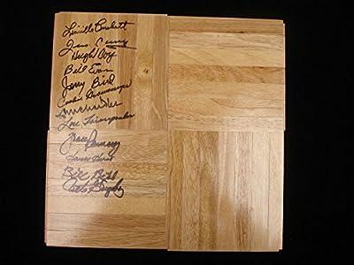 1953-54 University of Kentucky Basketball Autographed Floor Piece 12 Autographs - Autographed College Floorboards