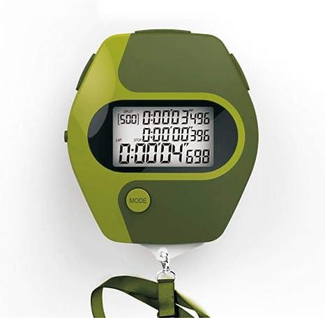 ZUZEN Cuenta atrás Juego de cronómetro Deportivo Tabla de códigos de Juegos Mesa de códigos multifunción Temporizador Impermeable de Tres Filas Verde: Amazon.es: Deportes y aire libre