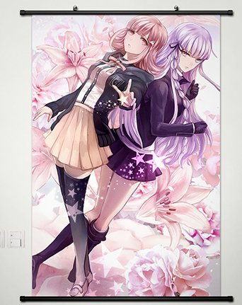 Wall Scroll Poster Fabric Painting For Anime Danganronpa Kir