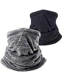WTACTFUL - Pack de 2 o 1 máscara de Forro Polar Suave para el Cuello, para climas fríos, Invierno, Deportes al Aire última intervensión