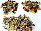 Piedras de la ágata del color de la mezcla appx. 5mm a 18mm ágata natural guijarros crudos cabido pescados acuario decoraciones fuentes del tanque de agua accesorios del terrario