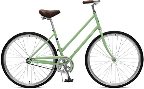 - Retrospec Critical Cycles Parker Step-Thru City Bike with Coaster Brake, Olive, 44cm/Medium