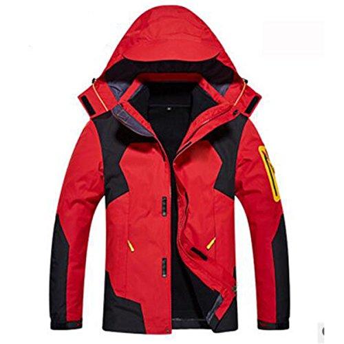 Resistente Red Hombre Abrigo Wu Mullidas Sola Desgaste Prendas Para Chaquetas De Respirable Otoño Al Lai TqwW6FUqv