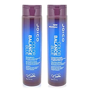 Joico Color Balance Blue Shampoo & Conditioner, 10 oz. by Joico