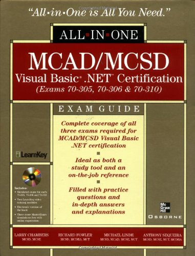 MCAD/MCSD Visual Basic .NET Certification All-in-One Exam Guide