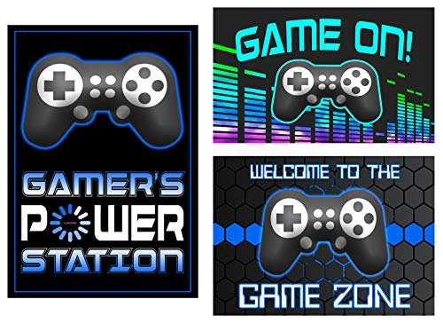 (Video Game Themed Party Supplies for Your Gamer (Poster Set))
