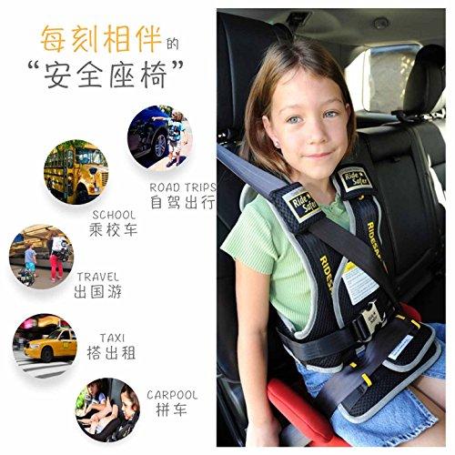 RideSafer Type 3 GEN3 Travel Vest - Gray/Black - Small by RideSafer (Image #4)