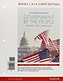 Government by the People, 2014 Election Update, Books a la Carte 25th Edition