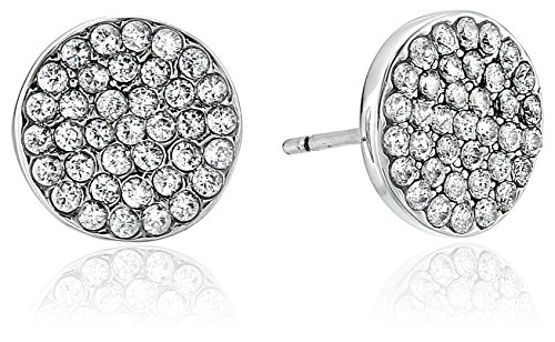 Kate Spade New York Pave Studs Shine On Pave Clear/Silver Stud Earrings Deal (Large Image)