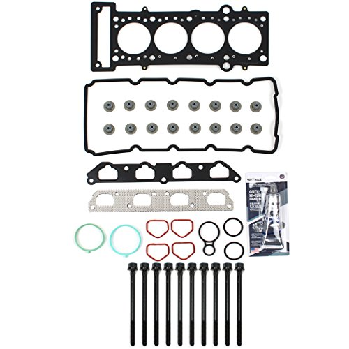 NEW CH17110HBSI MLS Head Gasket Set & Head Bolt Kit For 2002-08 MINI COOPER SUPERCHARGED W11B16A 1.6L SOHC W10B16A (Won't fit