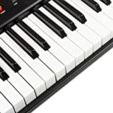 RockJam 61 Portable Electronic Keyboard with Key