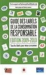 Guide des labels de la consommation responsable par Laville
