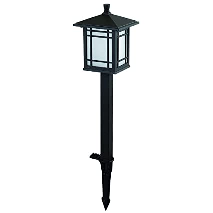Hampton Bay Low Voltage Bronze Mission Led Outdoor Path Light