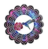 Next Innovations EKSHUMMIFS Fuchsia Hummingbird Kaleidescope Eycatcher, Small