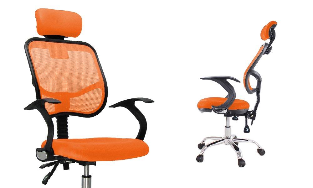 Sedie Da Ufficio Senza Rotelle : Sedia da ufficio con ruote colori rosso amazon