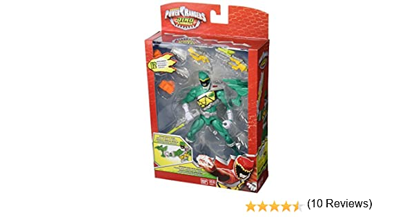 Power Rangers Dino Charge - Ranger DX , Color Verde (Bandai 42177)
