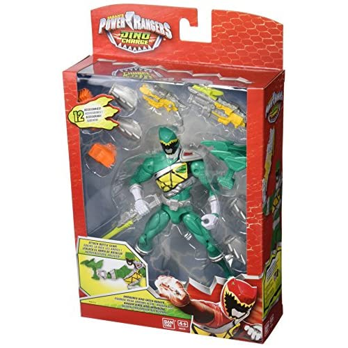 Power Rangers Dino Charge–Figurine d'action vert