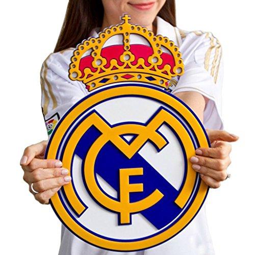 Madrid soccer shield acrylic Ronaldo product image