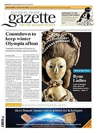 Amazon com: Antiques Trade Gazette: Kindle Store