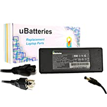 UBatteries AC Adapter Charger Toshiba Satellite P205-S6337 - 19V, 75W