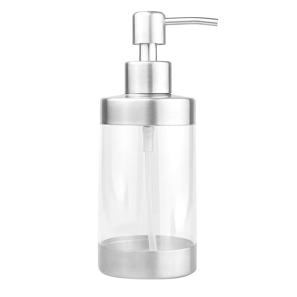 SM SunniMix Edelstahlseifenspender Fl/üssige Handwaschshampoo Pumpflasche