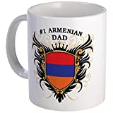 CafePress %2D Number One Armenian Dad Mu