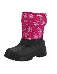 Unisex Children Snowproof Boot Warm Comfort Snowflake Boots For Girls Boys In Winter