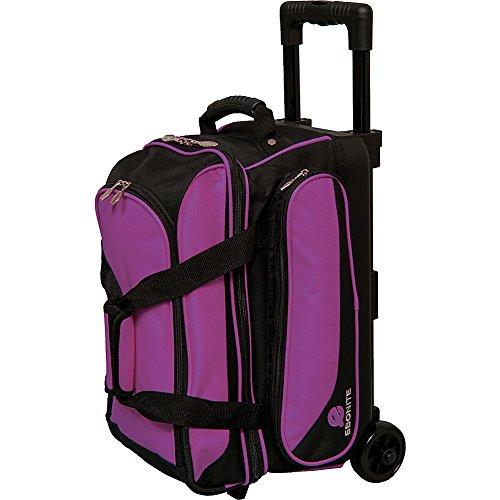 Ebonite Transport II Double Roller Bowling Bag, Purple (The Best Bowling Ball)