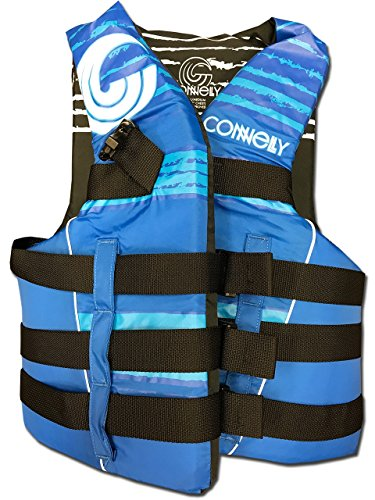 Promo Ski - CWB Connelly Skis Promo 4 Buckle Vest, Large/X-Large, Blue