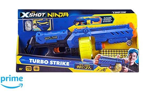 Zuru 36319 X-Shot Ninja Turbo Strike Blaster - Pistola con 48 ...