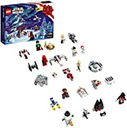 LEGO Star Wars Advent Calendar 75279 Building Kit for Kids, Fun Calendar with Star Wars Buildable Toys Plus Co