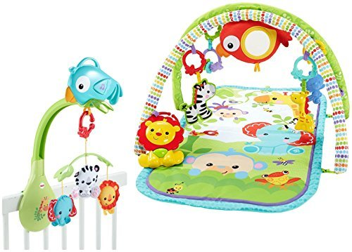 Rainforest Mobile - Fisher-Price Rainforest Gym and Mobile Gift Set