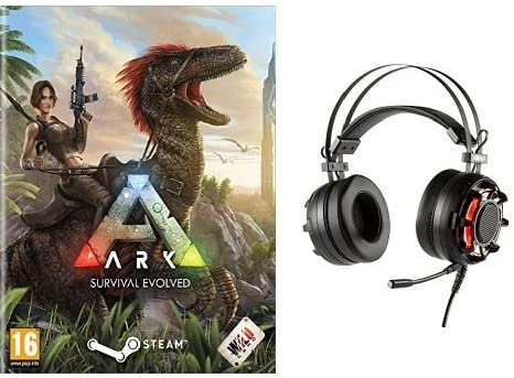 Ark Survival Evolved + Konix Ragnarok - Auriculares con micrófono ...