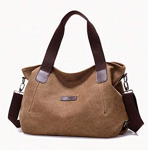 Strap Cm Rimovibile Travel Casual 14 Bag Crossbody Qinjli Large Lady Vintage Canvas Shoulder 44 28 Portable Bag B 7aqpqfPH