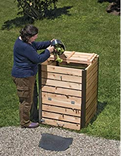 Amazon.com: Cedro Compost Bin: Jardín y Exteriores