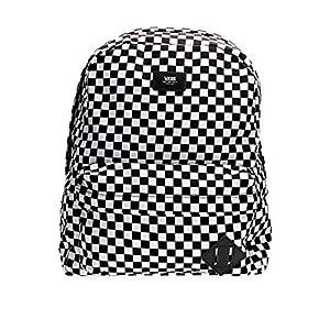 Vans SS20 ZAINO VECCHIA SCUOLA III OS Black-White Check 10 spesavip