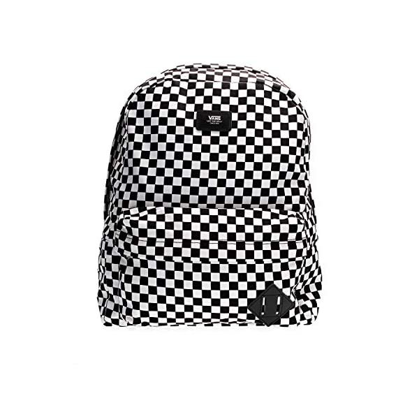 Vans SS20 ZAINO VECCHIA SCUOLA III OS Black-White Check 1 spesavip