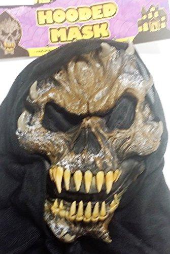 Horned Demon Hooded Face Mask