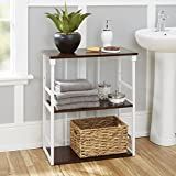 Creative Design Mixed Material Bathroom Collection 3-Tier Wall Shelf Create a Lovely Space with Classic Look to your Bathroom