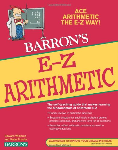 E-Z Arithmetic (Barron's E-Z Series)