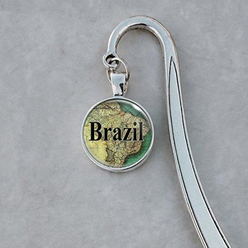 Brazil 1835 Map Bookmark - Antique 1835 Map