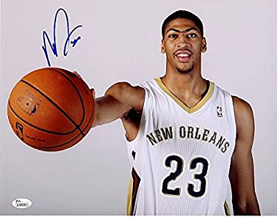 Anthony Davis Signed 11 x 14 Photograph - JSA Certified Rookie Rc Signature Autograph Kentucky