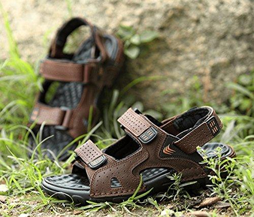 SK Studio - Zapatos con tacón Hombre marrón