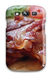 Nafeesa J. Hopkins's Shop Best Shock-dirt Proof Bacon Case Cover For Galaxy S3